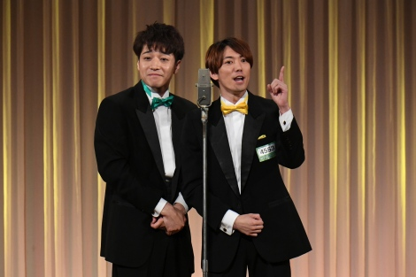 ふぉ〜ゆ〜の福田悠太(左)と辰巳雄大(右)によるコンビ「つ〜ゆ〜」が「M-1グランプリ」2回戦突破(C)M-1グランプリ事務局
