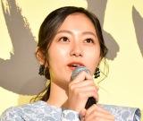 映画『喝風太郎!!』の完成披露上映会に出席した工藤綾乃 (C)ORICON NewS inc.