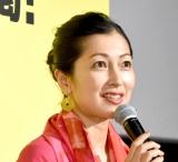 映画『喝風太郎!!』の完成披露上映会に出席した鶴田真由 (C)ORICON NewS inc.