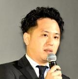 映画『喝風太郎!!』の完成披露上映会に出席した柴田啓祐監督 (C)ORICON NewS inc.