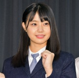 BSフジ新番組『STU発⇒東京』初回収録に参加したSTU48の瀧野由美子 (C)ORICON NewS inc.