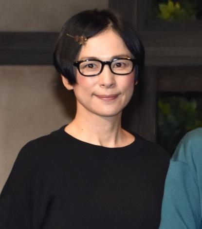 舞台『不機嫌な女神たち プラス1』の公開ゲネプロに参加した西田尚美 (C)ORICON NewS inc.