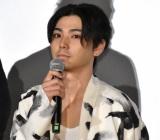映画『楽園』の公開初日舞台あいさつに登壇した村上虹郎 (C)ORICON NewS inc.