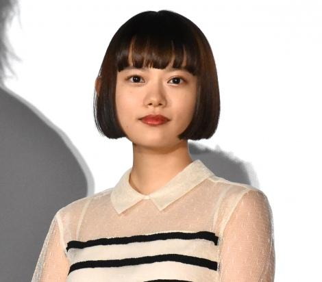 映画『楽園』の公開初日舞台あいさつに登壇した杉咲花 (C)ORICON NewS inc.