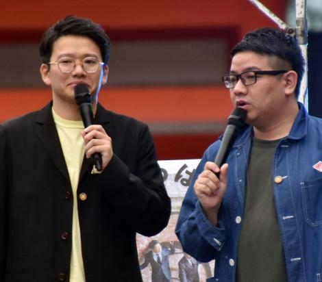 『京都国際映画祭2019』に登場したミキ(左から)亜生、昴生 (C)ORICON NewS inc.