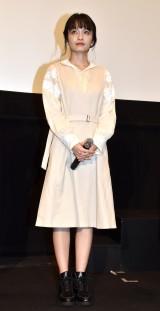 映画『葬式の名人』の公開初日舞台あいさつに登場した中西美帆 (C)ORICON NewS inc.