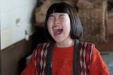 「女にも意地と誇りがあるんじゃー」と叫ぶ喜美子(川島夕空)(C)NHK
