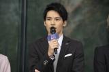 AbemaTVオリジナルドラマ 『フォローされたら終わり』制作発表会見に出席した岡田健史