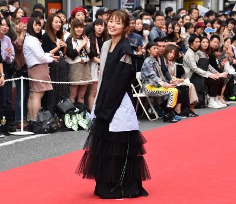 ファッションショー『SHIBUYA RUNWAY』に出演した松岡茉優 (C)ORICON NewS inc.