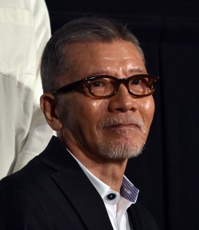 『駅までの道をおしえて』公開記念舞台あいさつに出席した塩見三省 (C)ORICON NewS inc.