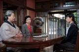 連続テレビ小説『スカーレット』第3週・第14回より。「(女中の仕事は)あんたには無理や。信楽帰り」と喜美子にクビを言い渡す大久保(C)NHK