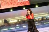 森口博子とのデュエットシングル「追憶シンフォニア/果てないあの宇宙へ」発売記念イベントを開催した鮎川麻弥