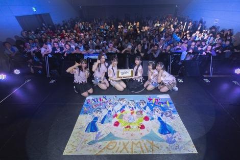 メジャーデビュー&本格活動2周年をファンから祝福されたPixMix