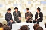 学生100人を前にRADWIMPSと新海監督のトークライブも(C)NHK