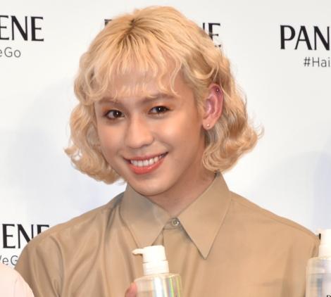 『新パンテーン』の新商品発表会に出席したりゅうちぇる (C)ORICON NewS inc.