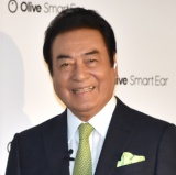 スマート集音器『Olive Smart Ear』日本発売イベントに出席した高橋英樹 (C)ORICON NewS inc.