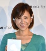 スマート集音器『Olive Smart Ear』日本発売イベントに出席した高橋真麻 (C)ORICON NewS inc.