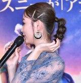 『アラジン』MovieNEX発売記念パーティーに出席した内田理央 (C)ORICON NewS inc.