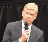 日本のサッカーについて語ったアーセン・ヴェンゲル=基調講演会開催前のメディア向け取材会 (C)ORICON NewS inc.