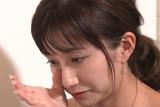 TBS『爆報!THE フライデー』で離婚から再婚までの真相を激白する河中あい(C)TBS