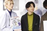 (左から)山中柔太朗、宮世琉弥=『M!LK OFFICIAL CALENDAR 2020』発売記念イベントより