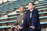 金栗四三(中村勘九郎)と田畑政治(阿部サダヲ)(C)NHK
