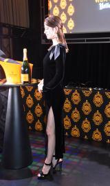 シャンパンブランドのヴーヴ・クリコのハロウィンイベント『Yelloween』のオープニングセレモニーに参加したマギー (C)ORICON NewS inc.