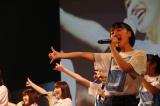 ファン投票9位で選出された清水紗良さん(13歳)(C)STU