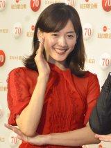 『第70回NHK紅白歌合戦』で紅組司会を務める綾瀬はるか (C)ORICON NewS inc.