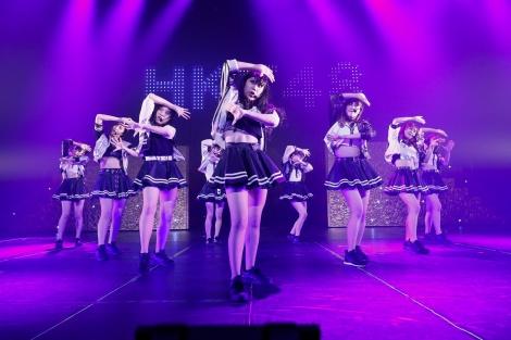 HKT48のダンス選抜ユニット「Lit charm」をお披露目(C)AKS