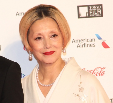 『第32回東京国際映画祭』レッドカーペットに登場した夏木マリ (C)ORICON NewS inc.