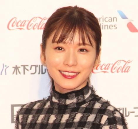 『第32回東京国際映画祭』レッドカーペットに登場した松岡茉優 (C)ORICON NewS inc.