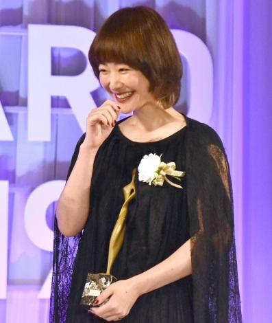 『東京ドラマアウォード2019』で助演女優賞を受賞した黒木華 (C)ORICON NewS inc.