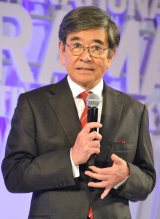 『東京ドラマアウォード2019』で司会を努めた石坂浩二 (C)ORICON NewS inc.