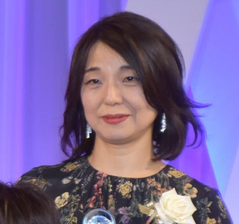 『東京ドラマアウォード2019』授賞式に出席した安達奈緒子氏 (C)ORICON NewS inc.