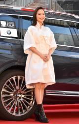 『第32回東京国際映画祭』トップバッターとしてレッドカーペットに登場した広瀬アリス (C)ORICON NewS inc.