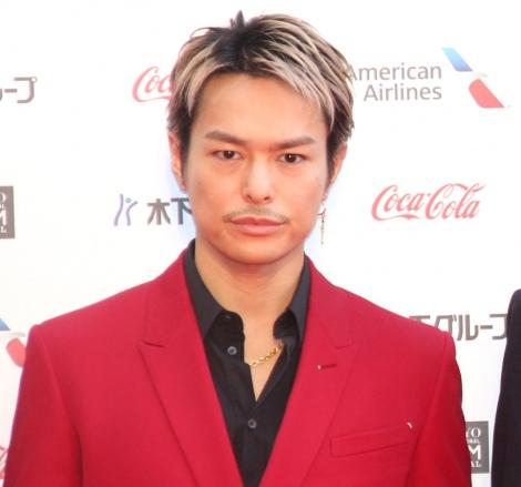 『第32回東京国際映画祭』レッドカーペットに登場した今市隆二 (C)ORICON NewS inc.