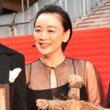 『第32回東京国際映画祭』レッドカーペットに登場したキムラ緑子 (C)ORICON NewS inc.