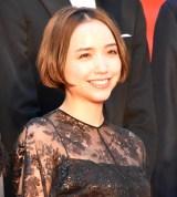 『第32回東京国際映画祭』レッドカーペットに登場した豊田エリー (C)ORICON NewS inc.