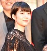『第32回東京国際映画祭』レッドカーペットに登場した植田紗々 (C)ORICON NewS inc.
