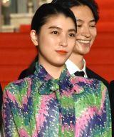 『第32回東京国際映画祭』レッドカーペットに出席した成海璃子 (C)ORICON NewS inc.