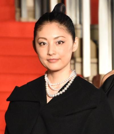 『第32回東京国際映画祭』レッドカーペットに出席した常盤貴子 (C)ORICON NewS inc.