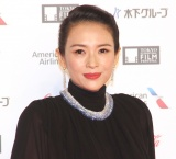 『第32回東京国際映画祭』レッドカーペットに出席したチャン・ツッイー (C)ORICON NewS inc.