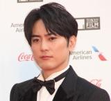 『第32回東京国際映画祭』レッドカーペットに登場した間宮祥太朗 (C)ORICON NewS inc.