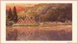 おジャ魔女どれみ20周年記念作品『魔女見習いをさがして』白川郷の風景(C)東映・東映アニメーション