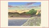 おジャ魔女どれみ20周年記念作品『魔女見習いをさがして』京都・桂川の風景(C)東映・東映アニメーション