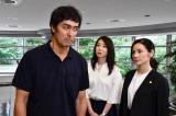 10月スタートの阿部寛主演『まだ結婚できない男』に出演する稲森いずみ、吉田羊 (C)カンテレ