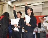 吉本坂46、2期生オーディション一次審査合格者発表の模様 (C)ORICON NewS inc.