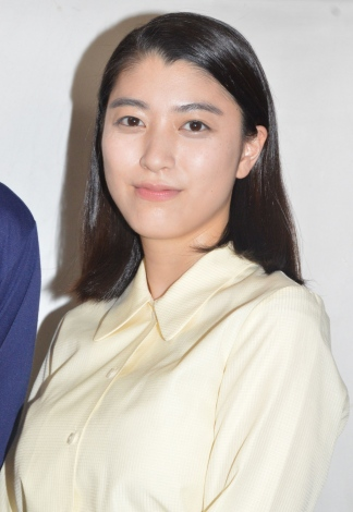 『BS笑点ドラマスペシャル 初代 林家木久扇』に参加した成海璃子 (C)ORICON NewS inc.