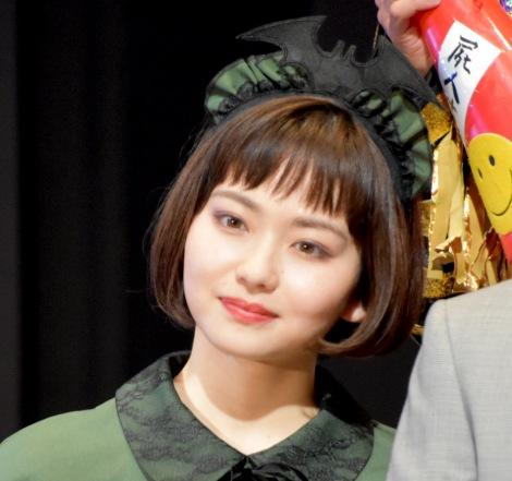 映画『屍人荘の殺人』ハロウィンイベントに出席した山田杏奈 (C)ORICON NewS inc.